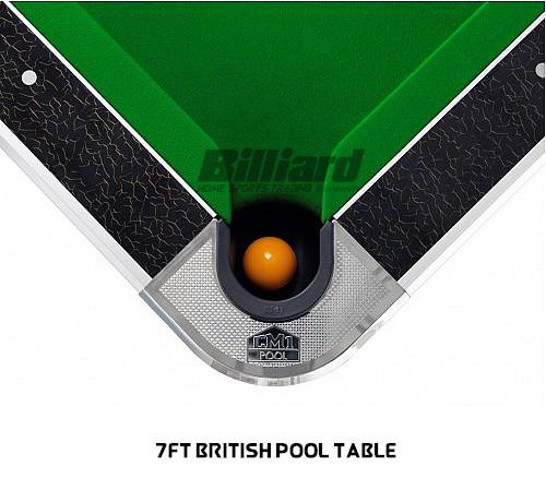 Ft British Pool Table Billiard - British pool table